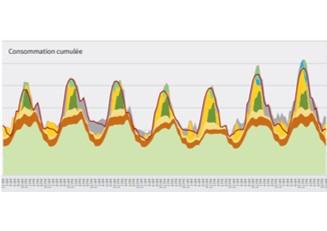 Fourniture de courbes de charges électriques fines, pour des exercices prospectifs ENR long terme